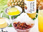 沖縄黒糖ぜんざいや沖縄夏実パインジュースも!沖縄スイーツセット