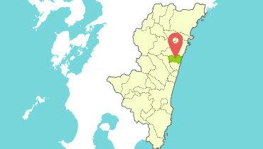 都農町地図