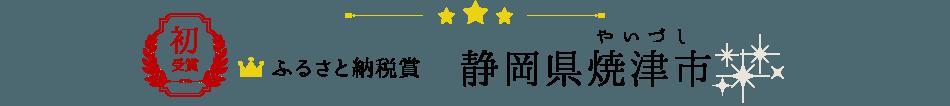ふるさと納税賞 静岡県焼津市