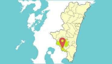宮崎県都城市