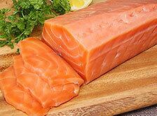 お刺身はもちろん、焼いたりレアステーキもおすすめ!エンペラーサーモン 1kg