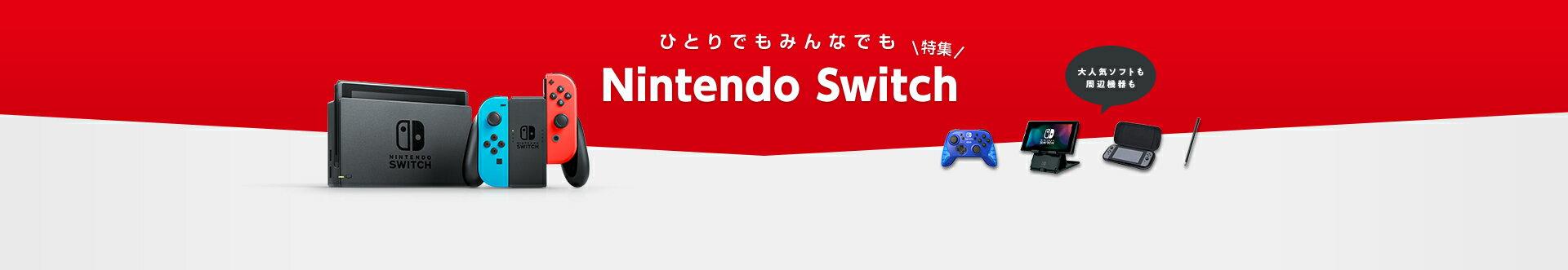 Nintendo Switch|ひとりでもみんなでも