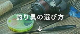 釣り具の選び方