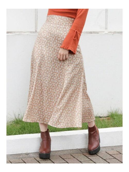 【S】ヴィンテージフラワーマーメイドスカート