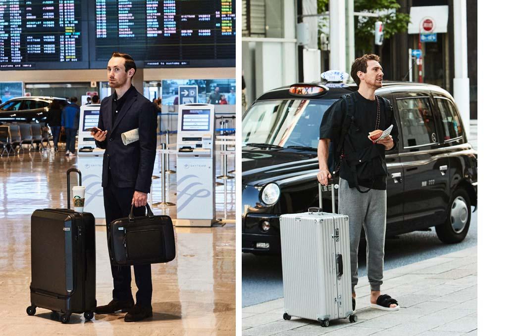 決め手はバッグ。バカンスから出張まで。旅スタイルの最適解はどれだ?