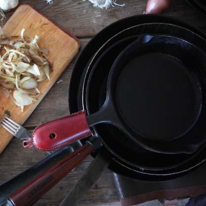 機能美に惚れ込む、男たちの料理道具「鉄フライパン」