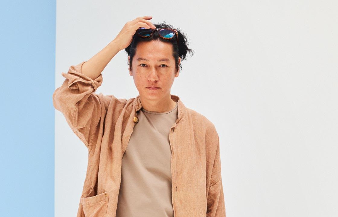 井浦 新さんがハマる、こだわり3素材で夏Styleをアップデート!