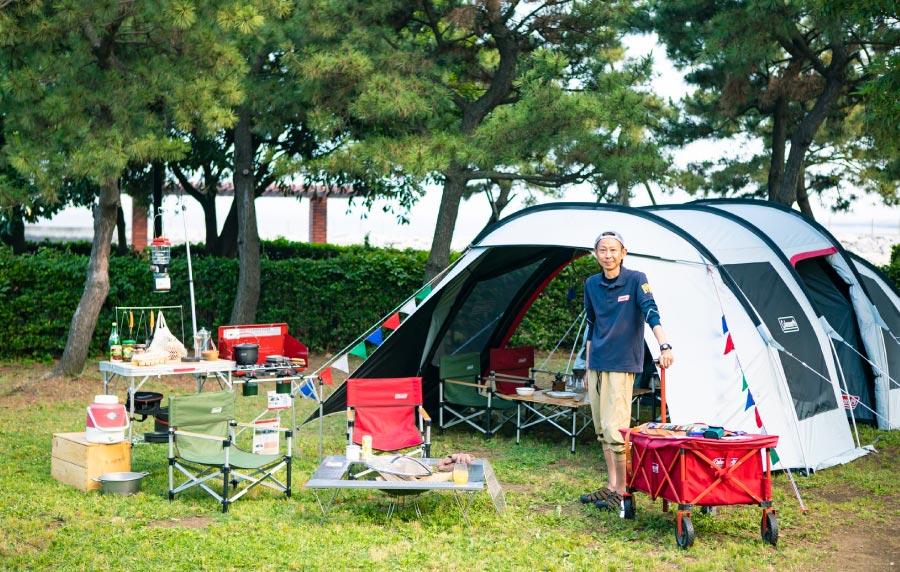 ファミリーキャンプ基本のキ