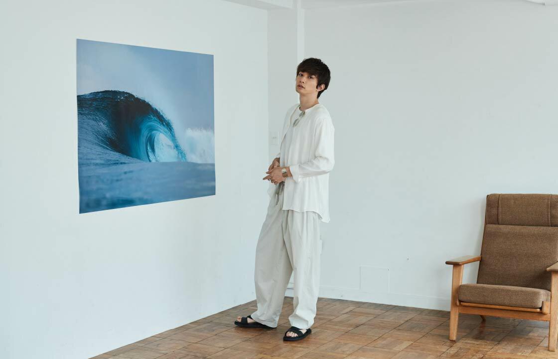 大自然に身をまかすほうが自分らしくいられる 町田啓太が着るResortコーデ
