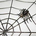 アイアン製クモの巣