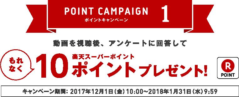 ポイントキャンペーン1