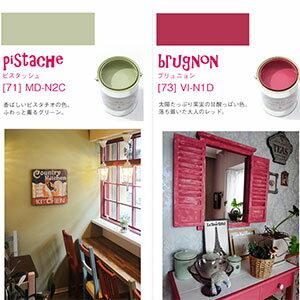 壁紙の上に塗れるペンキ ピスタッシュ、ブリュニョン