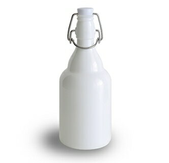 500ml白いクリップトップボトル