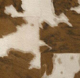 不織布壁紙(牛の毛皮柄)
