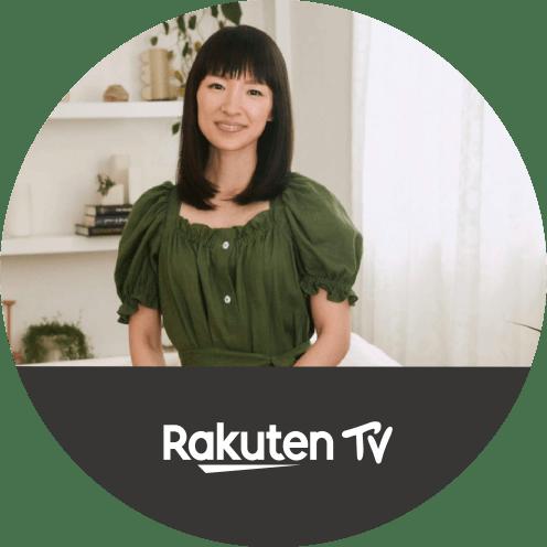 Rakuten TVでこんまり(R)︎片づけ動画レッスン全集を学ぶ