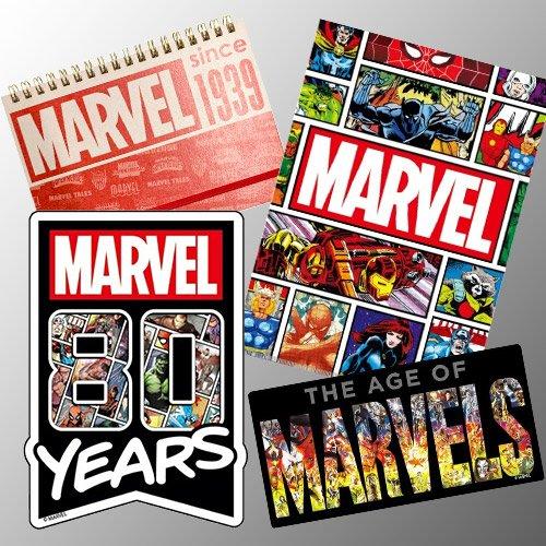 マーベル・コミックス80周年を記念したデザイングッズ