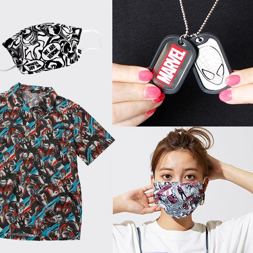 ファッションマスクなど新アイテム