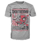 ファンコ POP!「デッドプール」Taco Tuesday Tシャツ