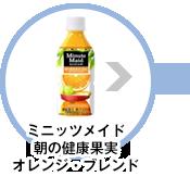 ミニッツメイド朝の健康果実オレンジ・ブレンド