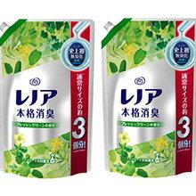 レノア 本格消臭 フレッシュグリーンの香り つめかえ用 超特大サイズ(1.4L*2コセット)