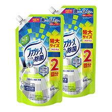 ファブリーズW除菌 緑茶成分入り 替特大 2P
