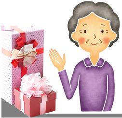 義母への贈り方