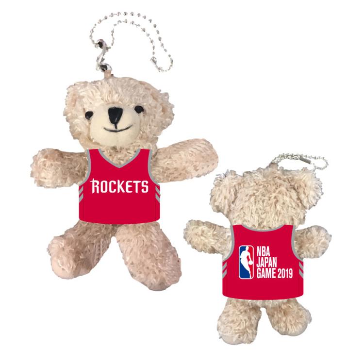 ヒューストン・ロケッツ x NBA JAPAN GAMES 2019 ベアーキーチェーン