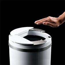 ZitA センサー付き自動開閉ゴミ箱
