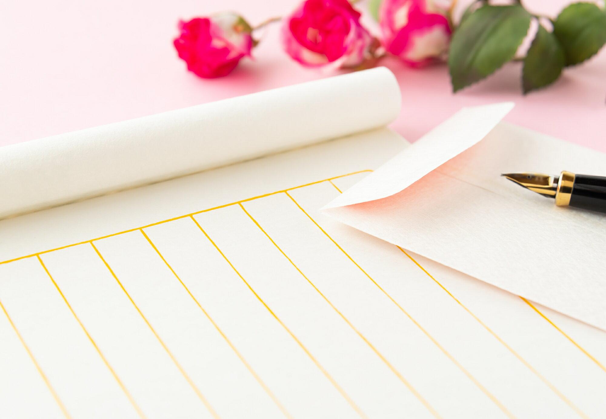 お中元の挨拶状やお礼状の文例を紹介イメージ