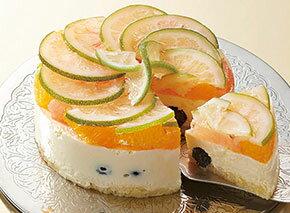京橋千疋屋 小笠原レモンのチーズケーキ