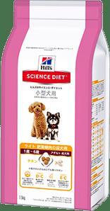 小型犬用 ライト(肥満傾向の成犬用)