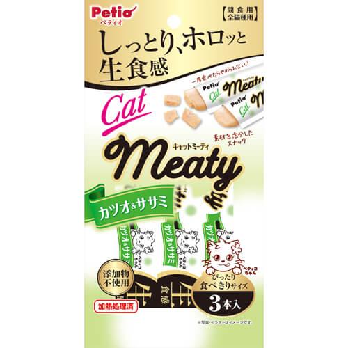 ペティオ Cat Meaty カツオ&ササミ