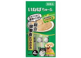 いなば 犬用ちゅ~る 総合栄養食 とりささみ 14gX4
