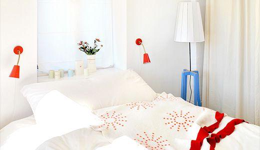 北欧インテリアのベーシックが詰まったくつろぎのベッドルーム