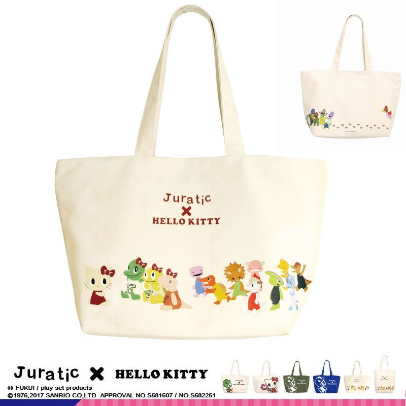 Juratic×HELLO KITTY トートバック