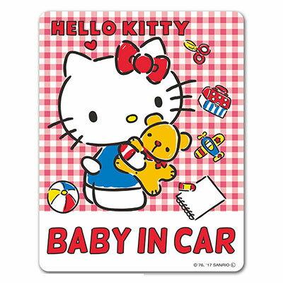 カーステッカー ハローキティ BABY IN CAR