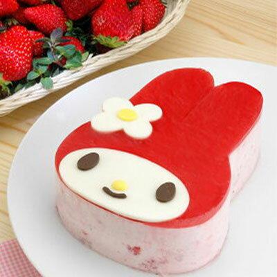 マイメロディいちごケーキ