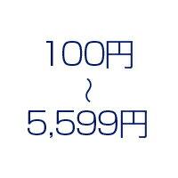 100円〜5,599円