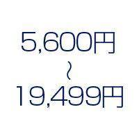 5,600円〜19,499円