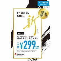 FREETEL SIM データ通信専用
