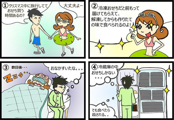 洋風・中華・キャラクターおせちなど!