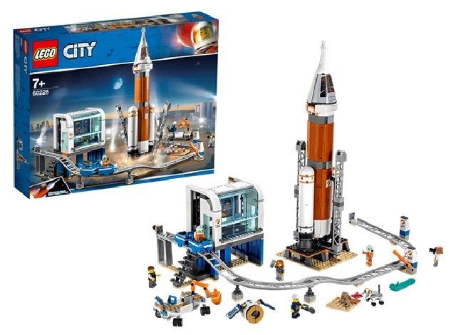 レゴシティ 超巨大ロケットと指令本部
