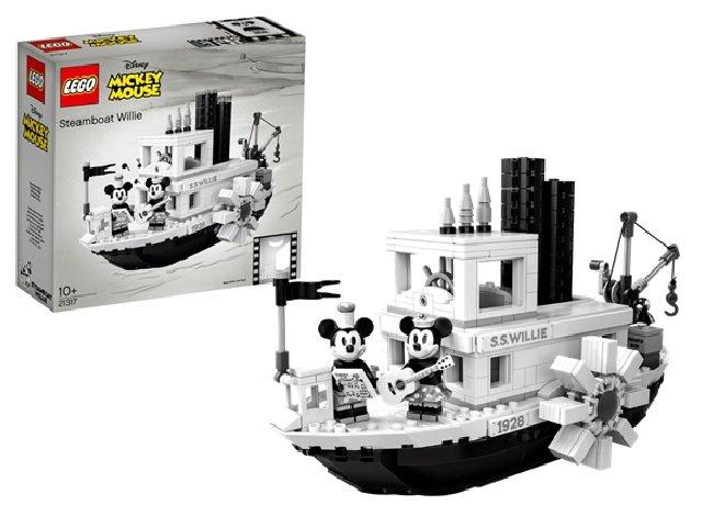 レゴアイデア 蒸気船ウィリー