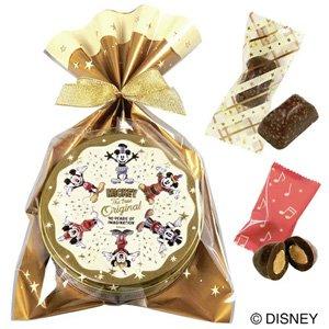 ミッキーマウス90周年 チョコ缶
