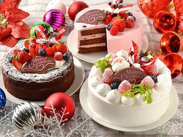 ケーキサイズの早見表