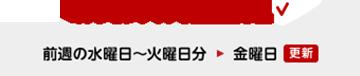 [ミッションクリア状況更新予定] 前週の水曜日〜火曜日分 ▶︎ 金曜日(更新)