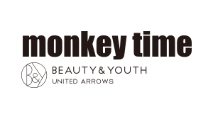 monkey time BEAUTY&YOUTH UNITED ARROWS