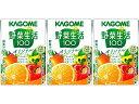 カゴメ カゴメ 野菜生活100オリジナル 100mlX3