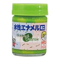 【ニッペホーム】水性エナメルミニ パロツトグリーン 25mL (12)