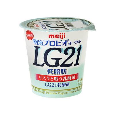 明治乳業 プロビオヨーグルト LG21 低脂肪 112g